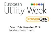 Participating in European Utility Week 2019